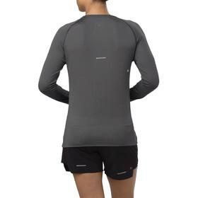 asics Seamless Koszulka do biegania z długim rękawem Kobiety szary